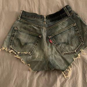 Levi's Shorts - Levi's Cut-Off Shorts